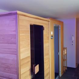 les cabines du sauna infrarouge et du hammam - Location de vacances - Scharrachbergheim-Irmstett