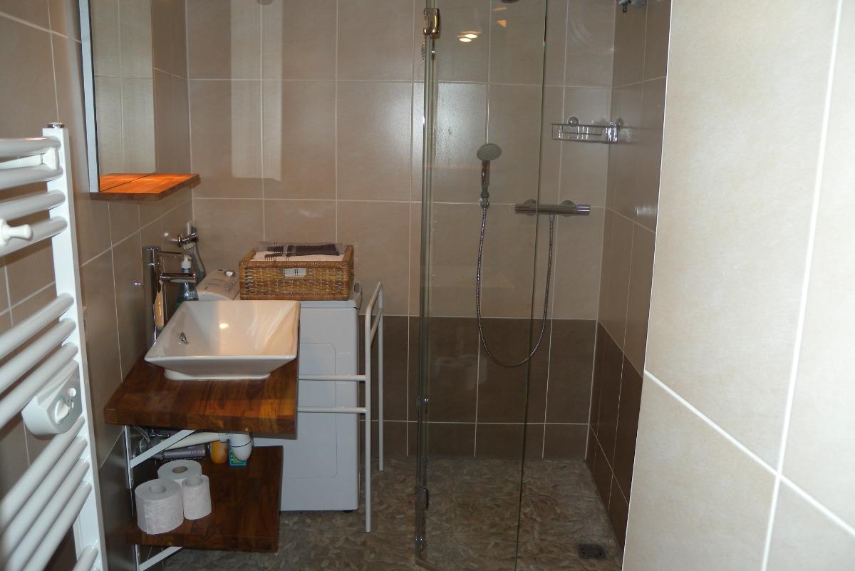 La salle d'eau, appartement au cœur de Strasbourg - Location de vacances - Strasbourg