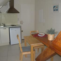 La cuisine, Gîte façon loft au centre de Starsbourg - Location de vacances - Strasbourg