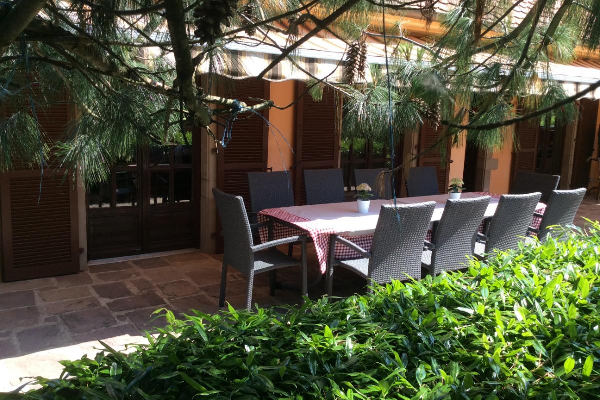 terrasse commune - Chambre d'hôtes - Ottrott