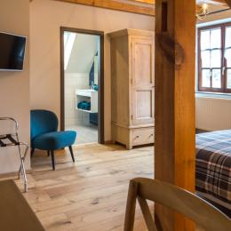 salle de bain romance Ottrott - Chambre d'hôtes - Ottrott