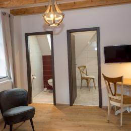 salle de bain coin de montagne Ottrott - Chambre d'hôtes - Ottrott