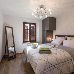 La chambre à coucher - Location de vacances - Rosheim