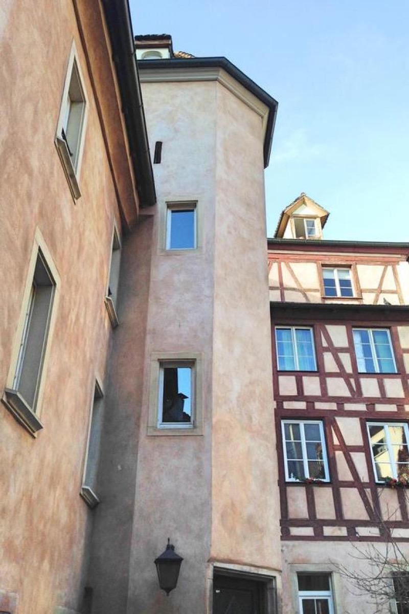Cour intérieure - Location de vacances - Strasbourg