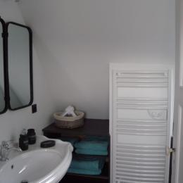 Salle d'eau coeur - Location de vacances - Sélestat
