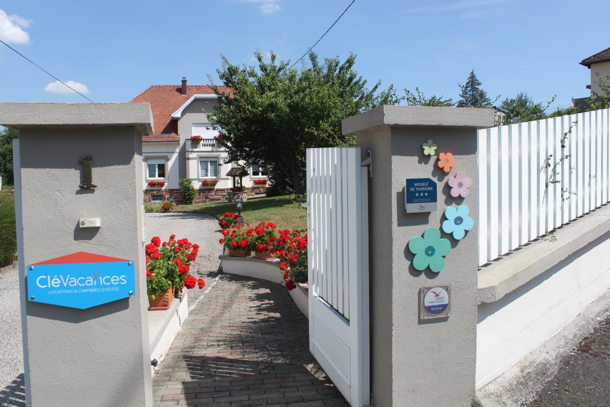 Entrée - Location de vacances - Romanswiller