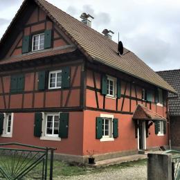 Gîte maison entière  - Location de vacances - La Wantzenau