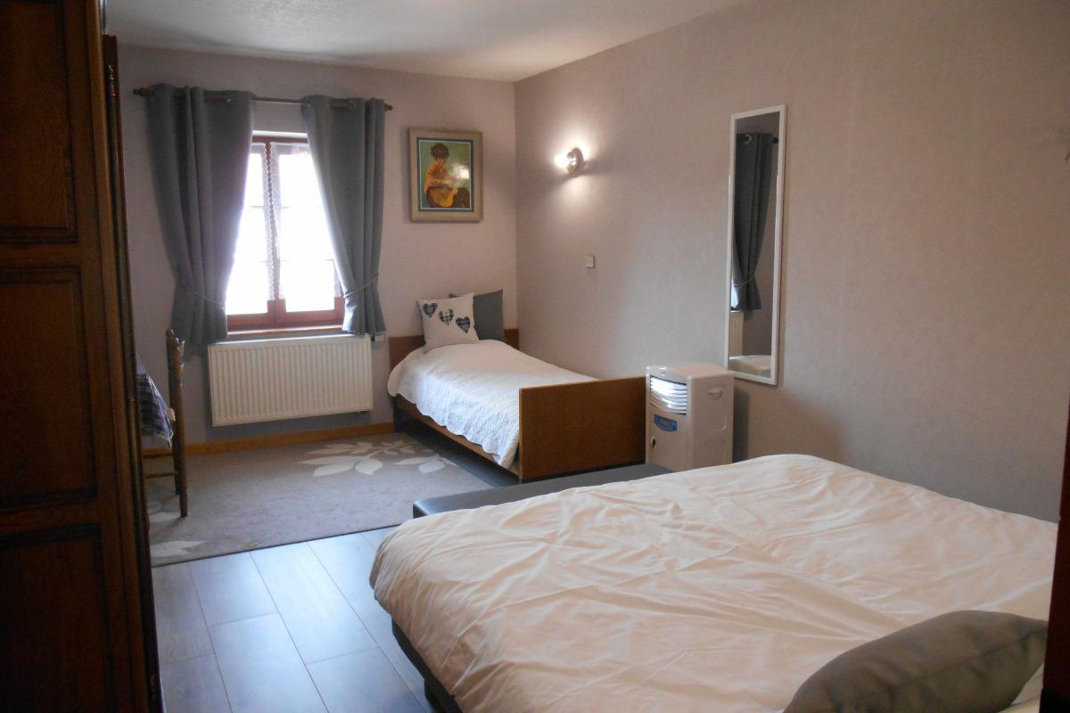 Notre chambre  Les Bleuets - Chambre d'hôtes - Seebach
