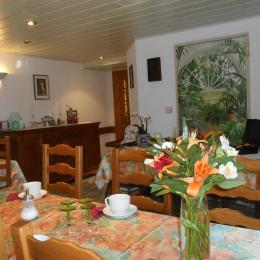 Notre espace Salon de Jardin - Chambre d'hôtes - Seebach