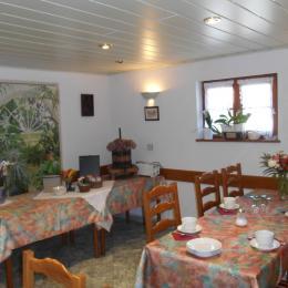 Notre espace Petit-déjeuner - Chambre d'hôtes - Seebach