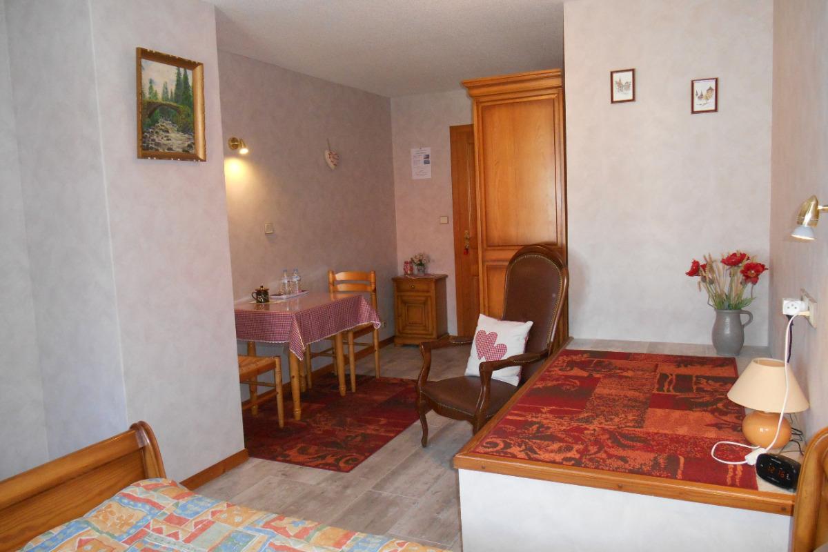 Notre chambre Les Coquelicots - Chambre d'hôtes - Seebach