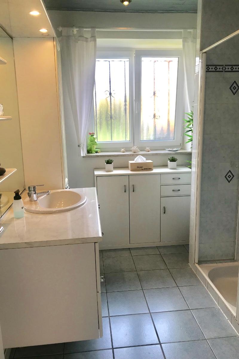 La salle d'eau attenante à la chambre - Chambre d'hôtes - Marlenheim