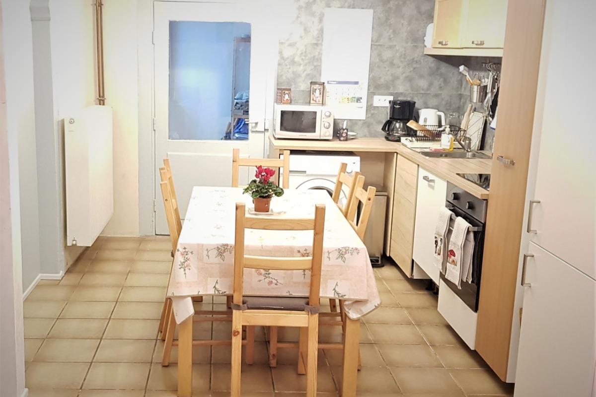 Façade du gîte situé en rez-de-chaussée - Location de vacances - Strasbourg