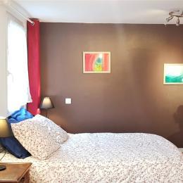 Grande chambre avec lit double - Location de vacances - Strasbourg
