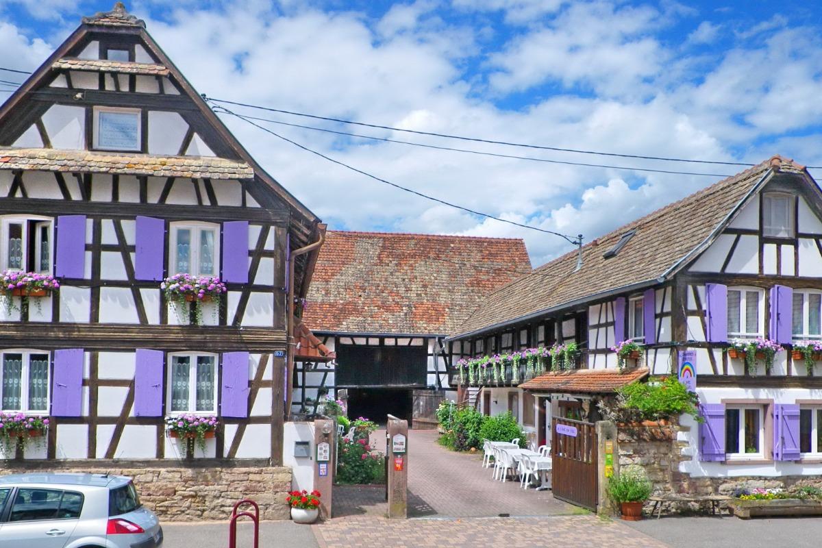 A l'arc en ciel - Chambre d'hôtes - Blaesheim