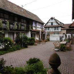 La salle des petits déjeuners - Chambre d'hôtes - Blaesheim
