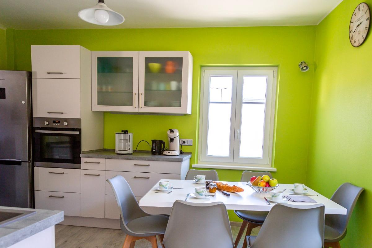 Salle à manger/cuisine - Location de vacances - Griesheim-près-Molsheim