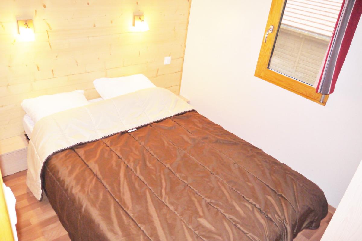Chambre avec lit double - Location de vacances - Wangenbourg-Engenthal