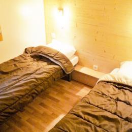 Chambre avec 2 lits simples - Location de vacances - Wangenbourg-Engenthal