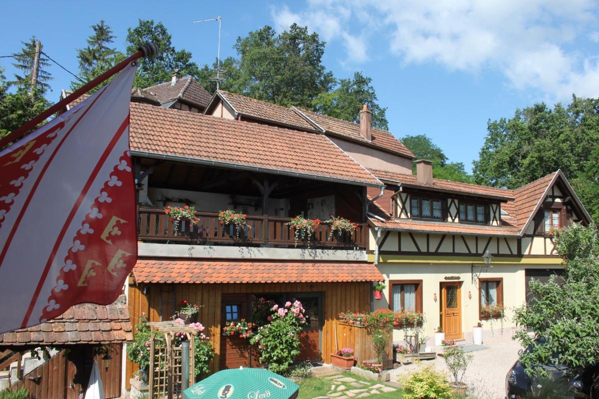 La Maison de Vacances de fin novembre à début janvier - Location de vacances - Nothalten