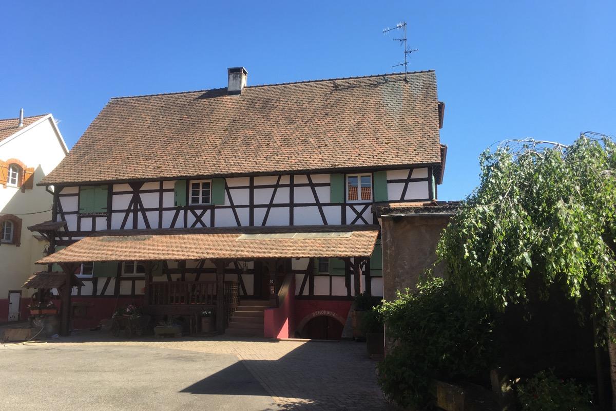 Entrée  - Location de vacances - Fessenheim-le-Bas