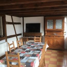 Véranda/salle à manger attenante à la cuisine - Location de vacances - Fessenheim-le-Bas