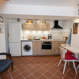 La cuisine et le coin repas - Location de vacances - Wissembourg