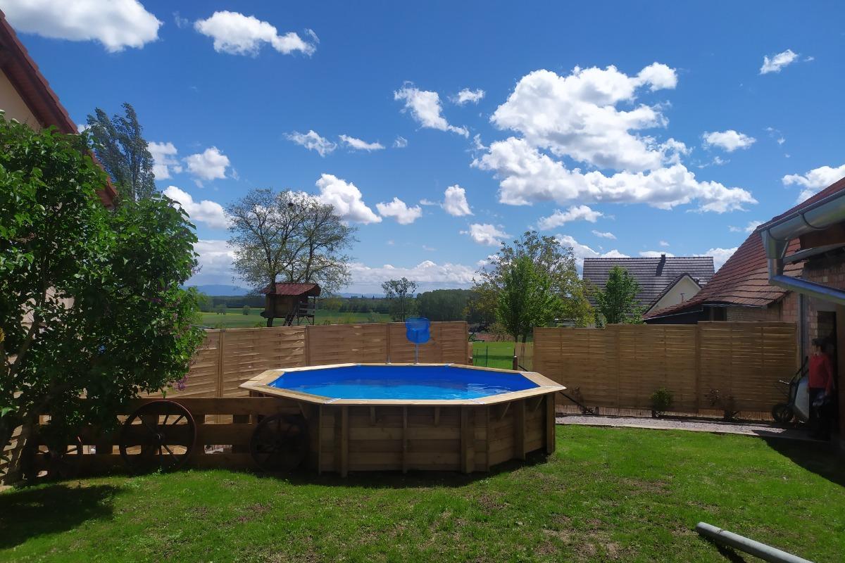 piscine  - Location de vacances - Gunstett