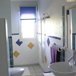 Salle de douche - Location de vacances - Labaroche