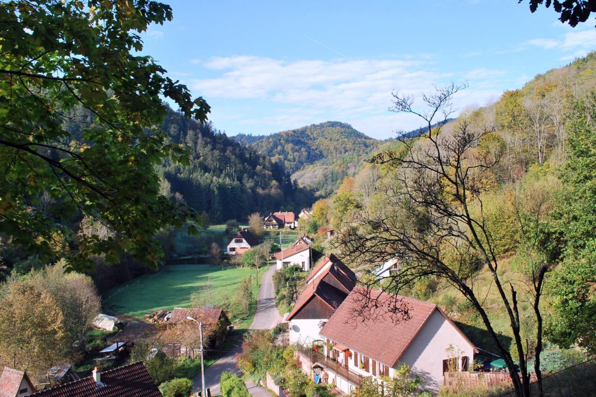 Terrasse couverte - Location de vacances - Rombach-le-Franc