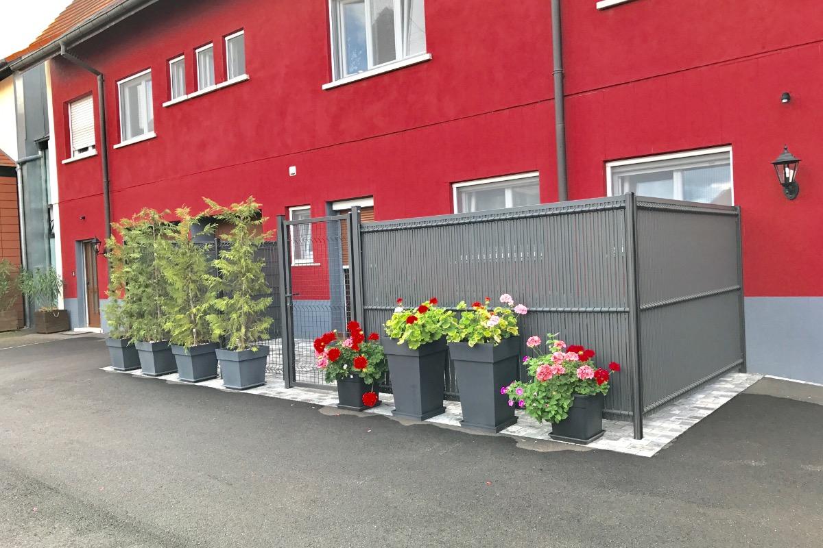 Entrée Appartement rez-de-chaussée - Location de vacances - Ostheim