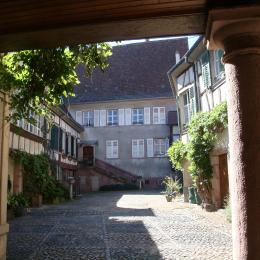 cour du 3 rue des Juifs - Location de vacances - Ribeauvillé