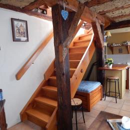 accès chambres - Location de vacances - Ribeauvillé