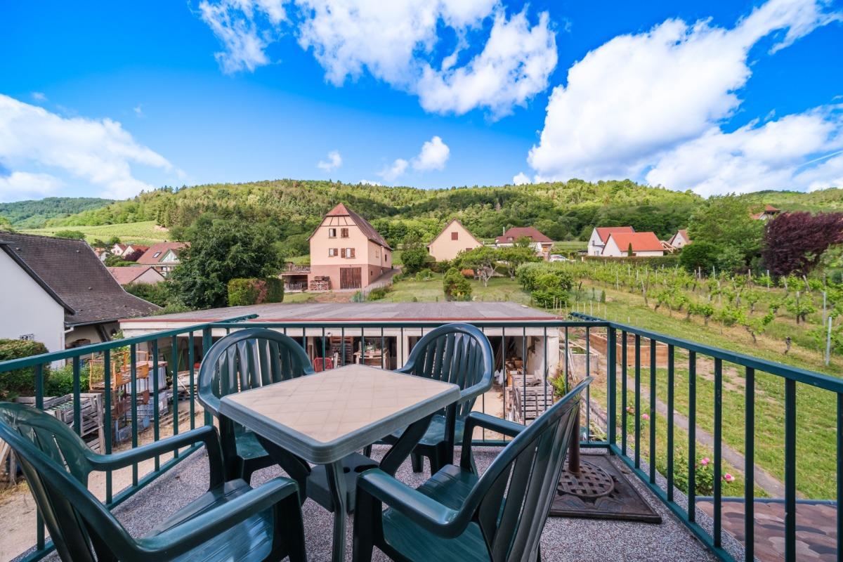 Salle à manger et séjour - Location de vacances - Riquewihr