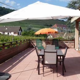 Terrasse 1 - Location de vacances - Saint-Hippolyte