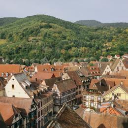 Vue de Kaysersberg - Location de vacances - Kaysersberg