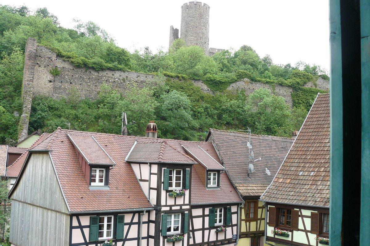 Vue de votre appartement - Location de vacances - Kaysersberg