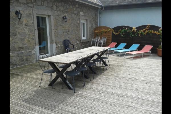 Terrasse - Location de vacances - Orbey