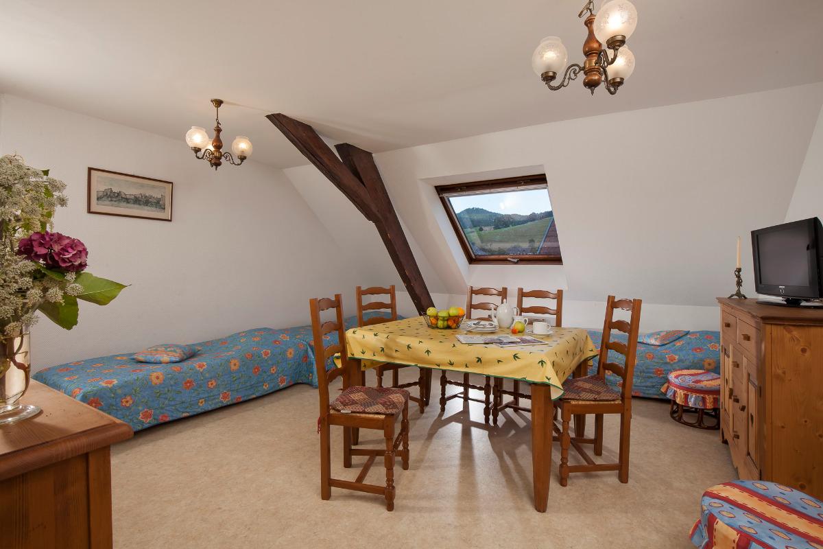 SÉJOUR SALLE A MANGER - Location de vacances - Orbey