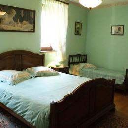 Chambre 1 - Location de vacances - Kaysersberg