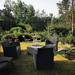 Le jardin vue d'en haut - Location de vacances - Lapoutroie