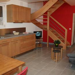 cuisine -séjour - Location de vacances - Orbey