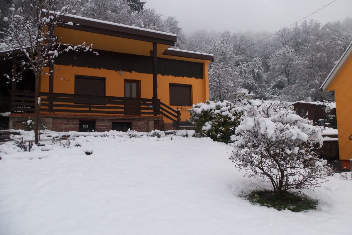 paysage de neige - Location de vacances - Munster