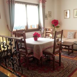 salon-salle à manger - Location de vacances - Munster