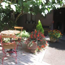 TERRASSE COIN GRILL - Location de vacances - Orschwihr