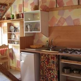 kitchenette - Chambre d'hôtes - Linthal