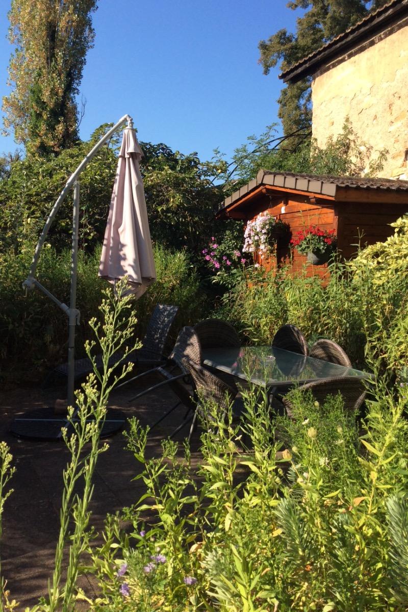 Terrasse plein sud - Location de vacances - Colmar