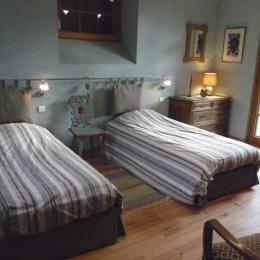 chambre du rez de chaussée - Location de vacances - Colmar
