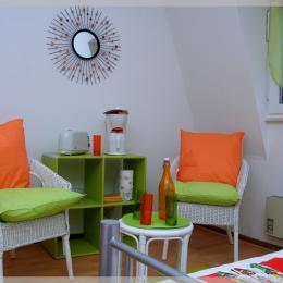 Petit électroménager inclus. Café, grille-pain, bouilloire... - Location de vacances - Colmar