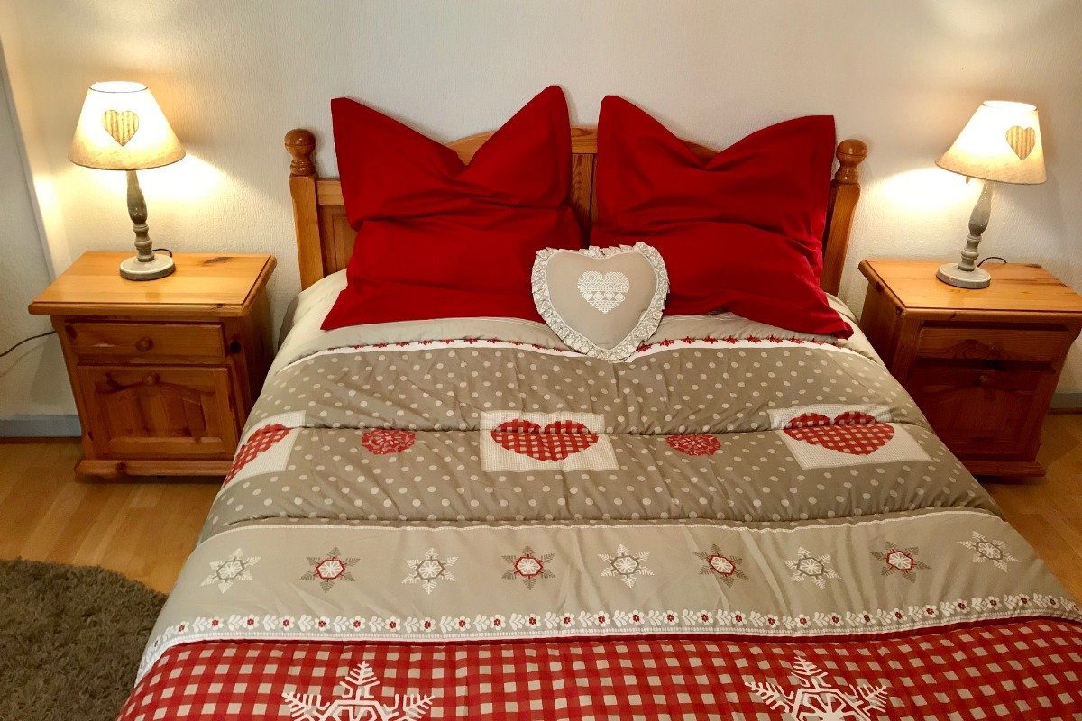 Chambre à coucher - Location de vacances - Colmar